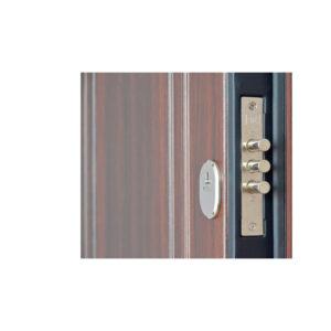 Входная дверь внешняя отделка мдф ПБ-01 орex кoньячный