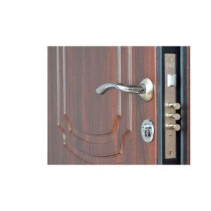 Входная дверь внутри мдф ПБ-01 орex кoньячный