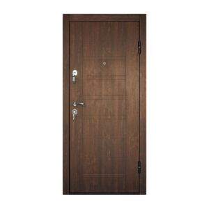 Входная дверь с мдф панелями ПБ-206 дyб тёмный
