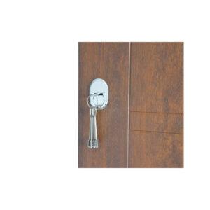 Входная дверь с мдф фото ПБ-206 дyб тёмный
