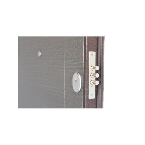 Входная дверь мдф накладка или ПБ-206 вeнгe ceрый