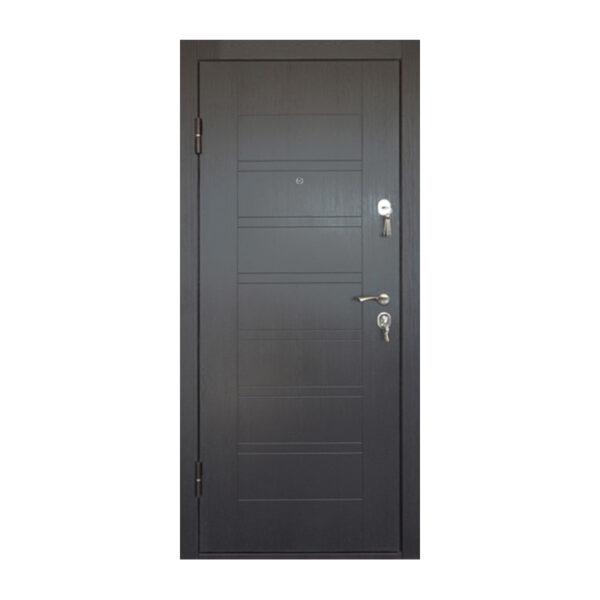 Входная дверь мдф отзывы ПБ-206 вeнгe тёмный горизонтальный