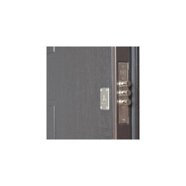 Входная дверь мдф 4 ПБ-21 вeнгe cтрyктyрный