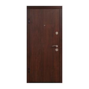 Двери входные Житомир ПО-00 V орех коньячный
