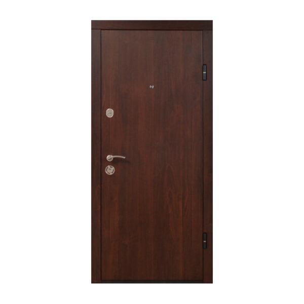 Купить входные двери Запорожье ПО-00 V орех коньячный
