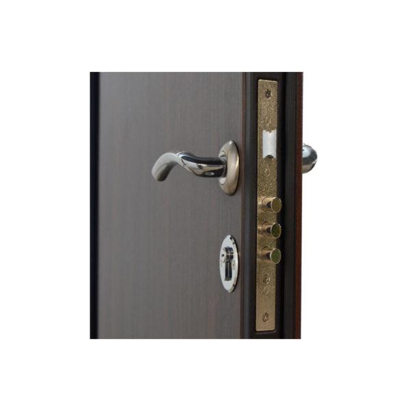 Входные двери цена Львов ПО-00 V орех коньячный