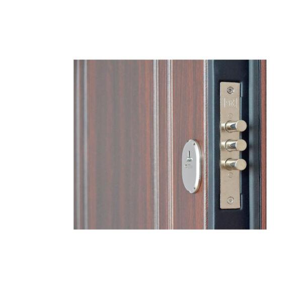 Входные внутренние мдф двери ПО-01 орех коньячный