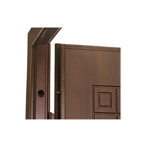 Входные двери из мдф фото ПО-02 орех белоцерковский