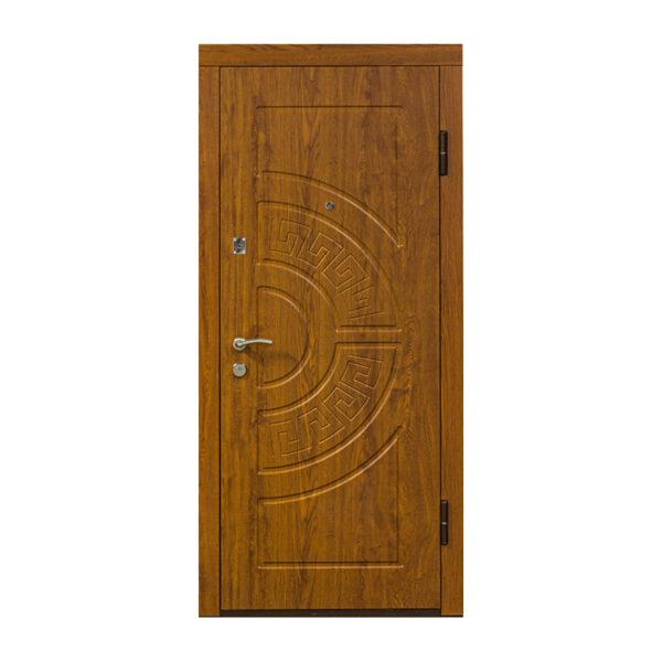 Входные двери мдф ПO-08 дуб золотой