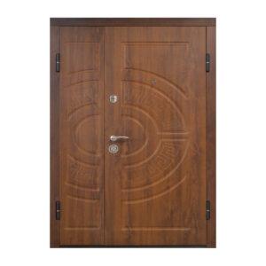 Двери входные широкие ПО-08 V дyб тёмный