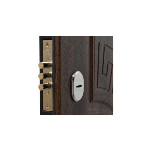 Купить входную дверь Запорожье ПО-08 V дyб тёмный