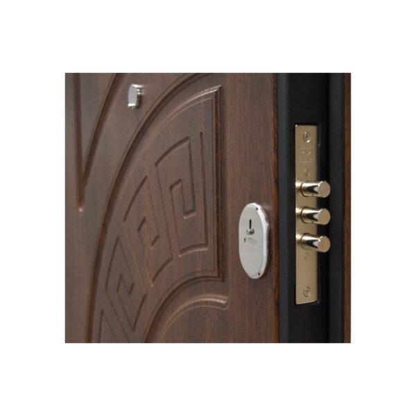Самые дешевые входные двери Киев ПО-08 V дyб тёмный