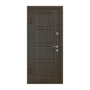Входные двери мдф 16 мм ПО-09 венге структурный-дуб белёный
