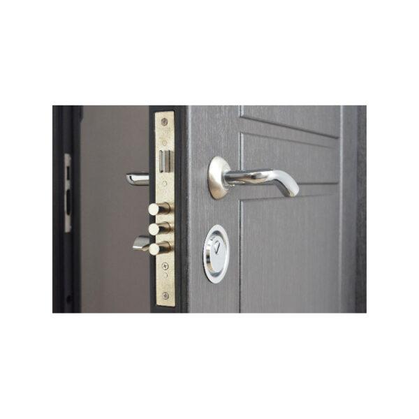 Входные двери мдф и мдф ПО-09 венге структурный-дуб белёный