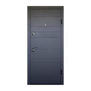 Дверь входная цена Днепр ПО-179 софт серый тёмный