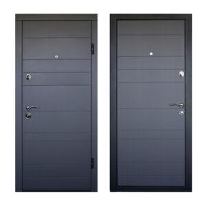 Купить двери входные Днепр ПО-179 софт серый тёмный
