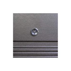 Входные двери мдф обоих сторон ПО-29 венге серый горизонтальный