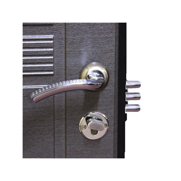Входные двери мдф накладки ПО-29 венге серый горизонтальный