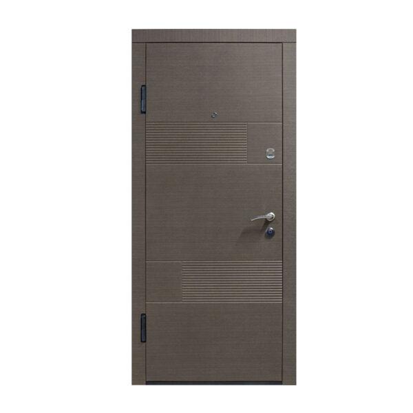 Входные двери мдф накладками ПО-58 венге серый горизонтальный