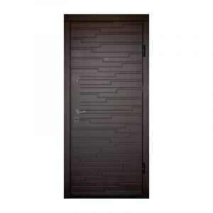 Входные двери мдф цены ПO-66 Q венге горизонтальный тёмный-венге горизонтальный светлый