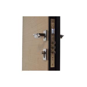 Двери входные Одесса страж ПO-66 Q венге горизонтальный тёмный-венге горизонтальный светлый