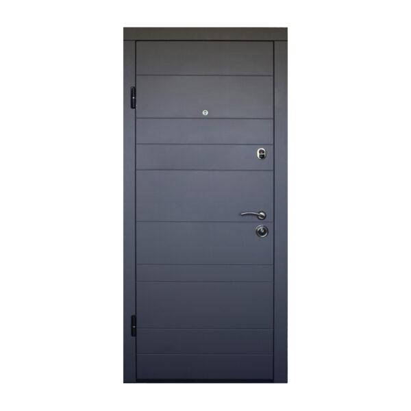Бюджетные двери МДФ ПО-179 софт серый тёмный