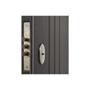 Купить входные двери Днепр ПО-97 софт серый тёмный