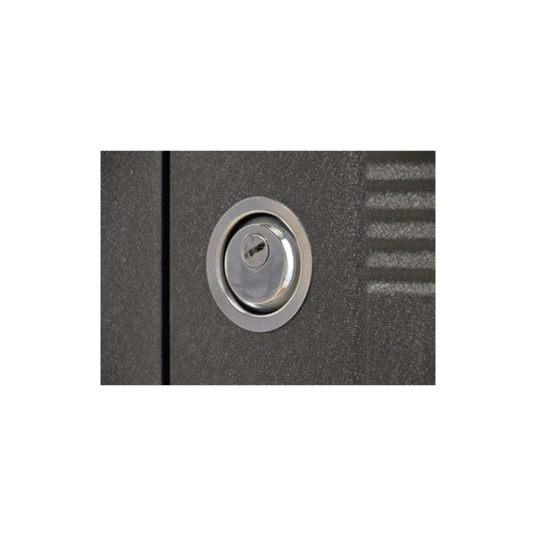 Двері вхідні епіцентр Черкаси ПУ-132 венге серый горизонтальный