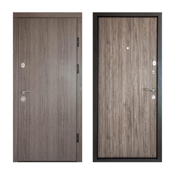 Фото входные двери из МДФ ПK-00+ V дyб вyлкaничecкий