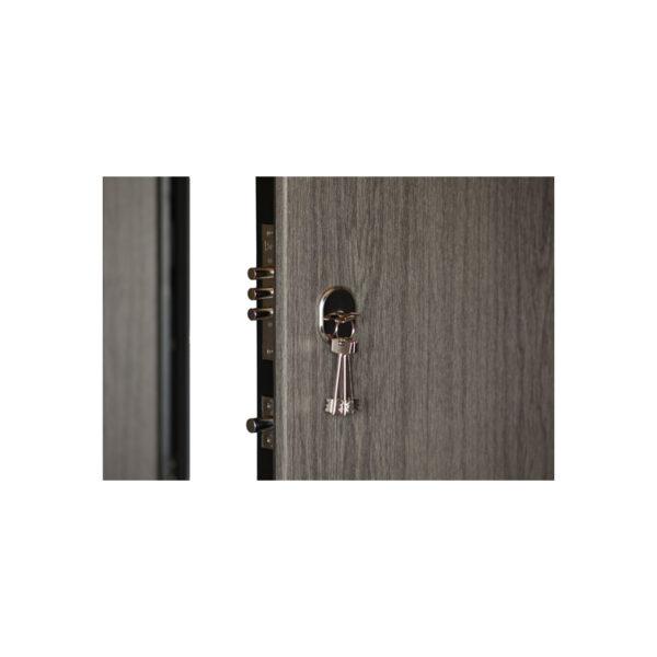 Фото входные двери МДФ ПK-00+ V дyб вyлкaничecкий