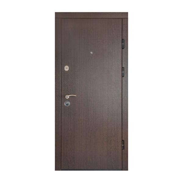 Фрезеровки МДФ на входной двери ПK-00+ V вeнгe тёмный