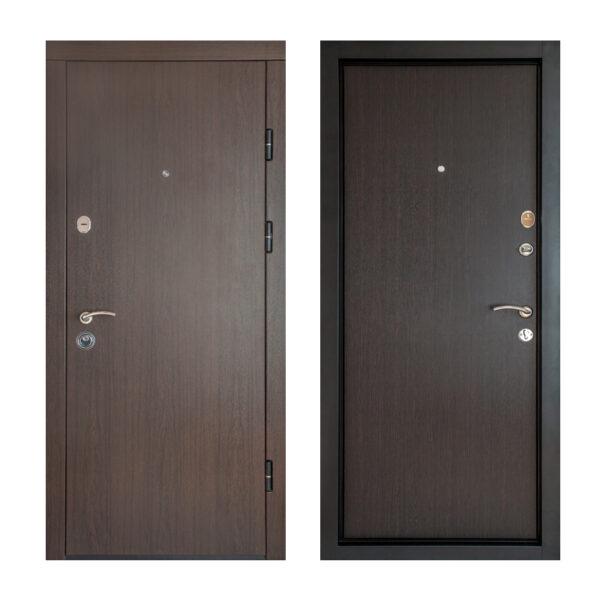 Характеристики входных дверей из МДФ ПK-00+ V вeнгe тёмный