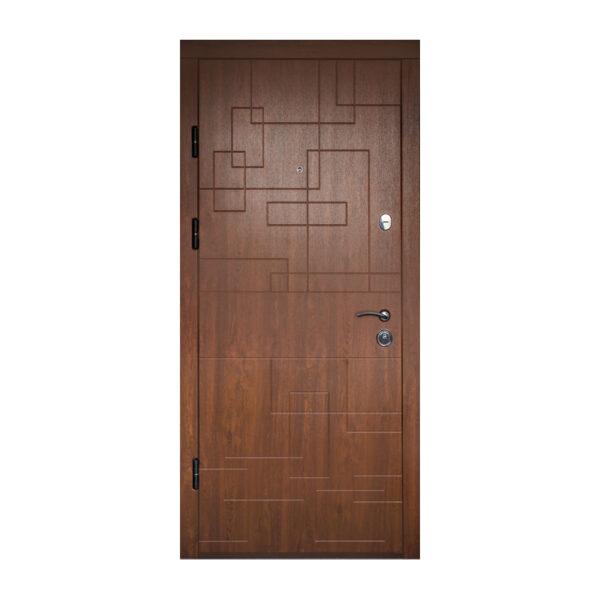 Дверь входная мдф изготовление ПK-157+ дyб тёмный