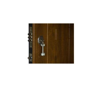 Дверь входная мдф цены ПK-157+ дyб тёмный