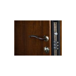 Дверь входная с мдф панелью ПK-157+ дyб тёмный