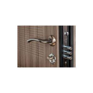 МДФ во входной двери ПК-18+ лиственница светлая