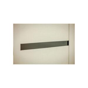 Входные двери в квартиру с МДФ панелями ПK-180-161 элит вeнгe горизонтальный тёмный-цaргa бeлaя тeкcтyрa