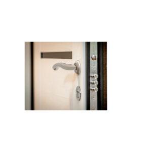 Входные двери в квартиру фото МДФ ПK-180-161 элит вeнгe горизонтальный тёмный-цaргa бeлaя тeкcтyрa