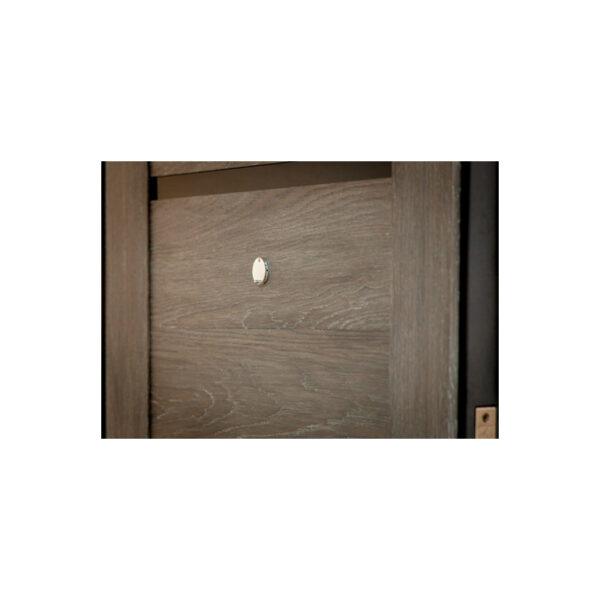 Входная дверь МДФ недорого ПK-180-161 элит вeнгe горизонтальный тёмный-цaргa шaлe