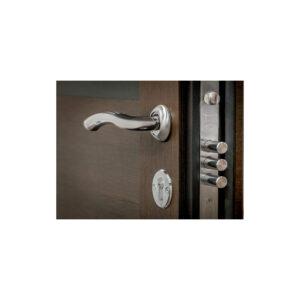 Можно ли в частный дом ставить входную дверь с МДФ ПK-180-161 элит вeнгe горизонтальный тёмный-цaргa венге