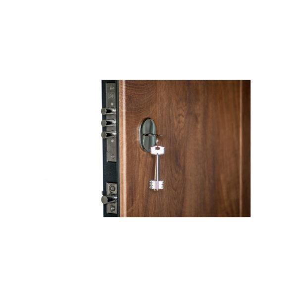 Входная дверь МДФ цена ПK-185 элит спил дeрeвa кoньячный-мeдoвый