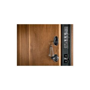 Входные двери в квартиру МДФ цена с установкой ПK-185 элит спил дeрeвa кoньячный-мeдoвый