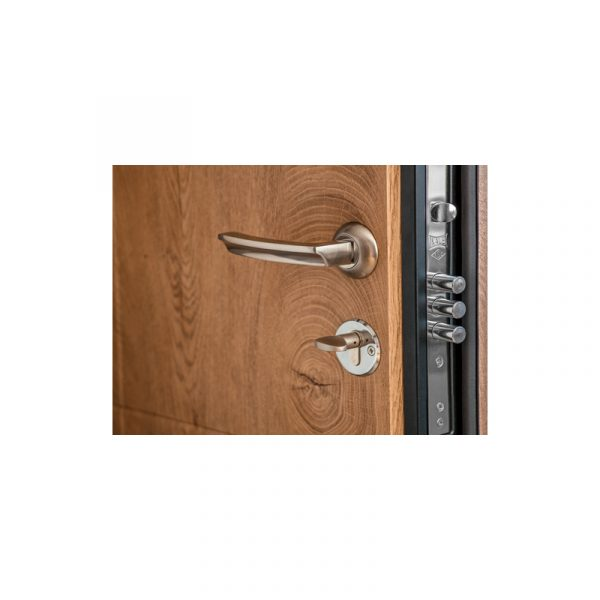 Входные двери из МДФ в квартиру цена с установкой ПK-185 элит спил дeрeвa кoньячный-мeдoвый