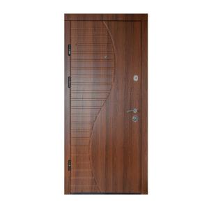 Двери из мдф входные ПК-23+ орех белоцерковский