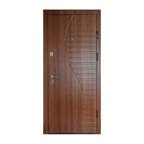 Двери мдф входные каталог ПК-23+ орех белоцерковский