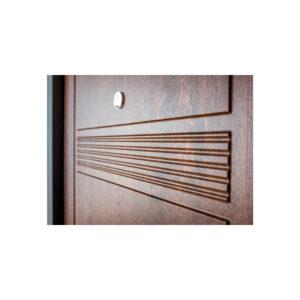 МДФ покрытие входной двери ПK-29+ V дуб тёмный