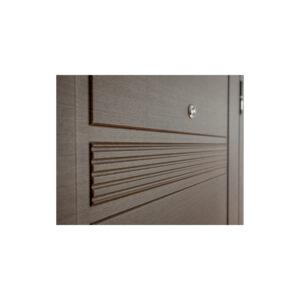 Двері вхідні з мдф ПК-29+ венге горизонтальный