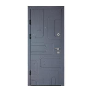 МДФ входная дверь ПK-52+ софт грей