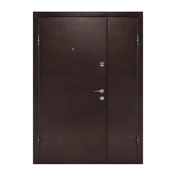 Двери входные мдф утепленные ПУ-01 орех коньячный