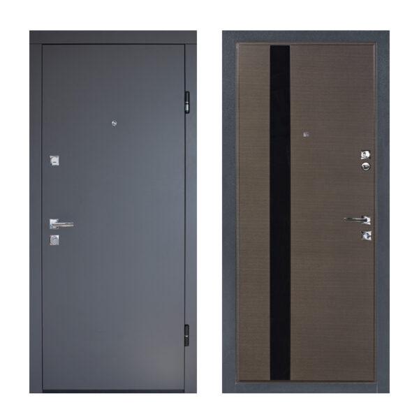 Двери входные мдф от производителя ПУ-120 Q венге горизонтальный
